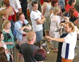 photo 014061 . IC Suvipäivän Igor [NFO n 09 24] & Deeamore Nordic Neonee [NFO n 09 23] . 2005-07-30