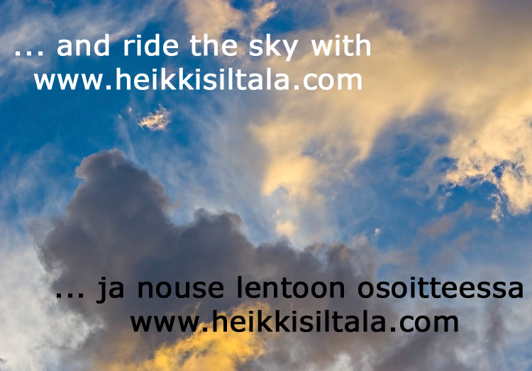 ... and ride the sky with www.heikkisiltala.com, photo 072166, 2007-07-29