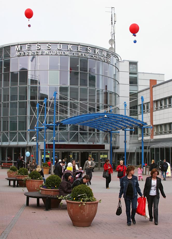 Helsingin Messukeskus, kuva 092383, 27.4.2008