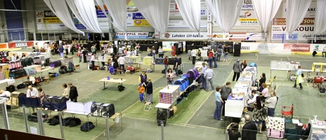 kuva 093101 . yleiskuvaa näyttelypaikalta . 3.5.2008
