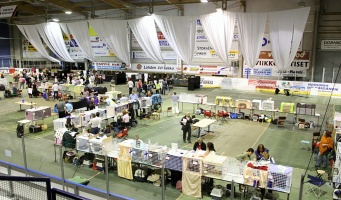 kuva 093102 . yleiskuvaa näyttelypaikalta . 3.5.2008