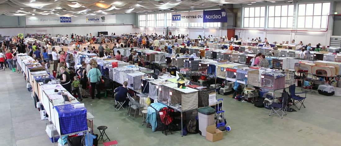 yleiskuvaa näyttelypaikalta, kuva 096092, 7.6.2008