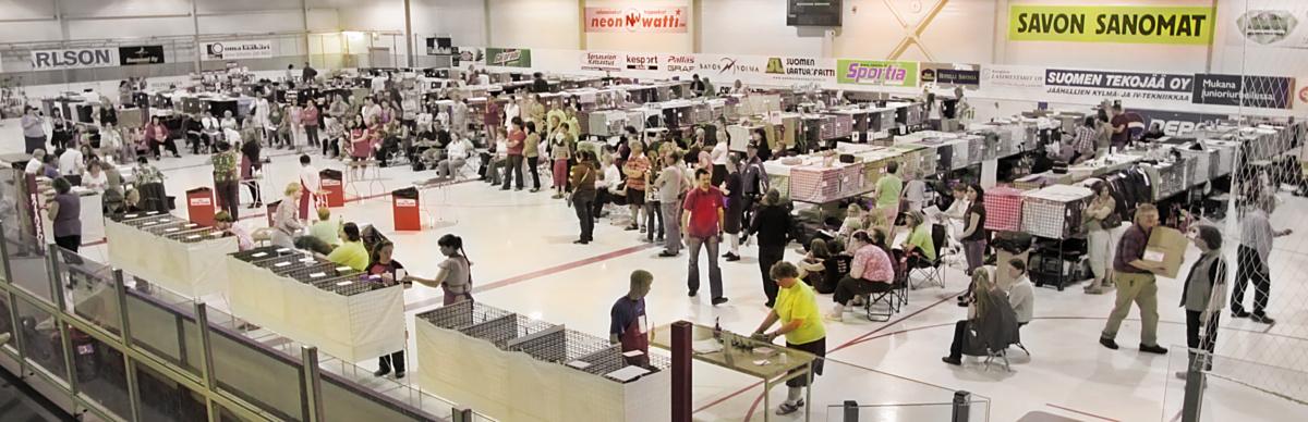 yleiskuvaa näyttelypaikalta, kuva 098340, 28.6.2008