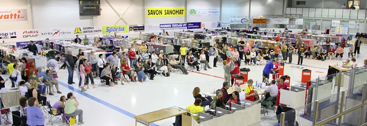 yleiskuvaa näyttelypaikalta, kuva 098344, 28.6.2008
