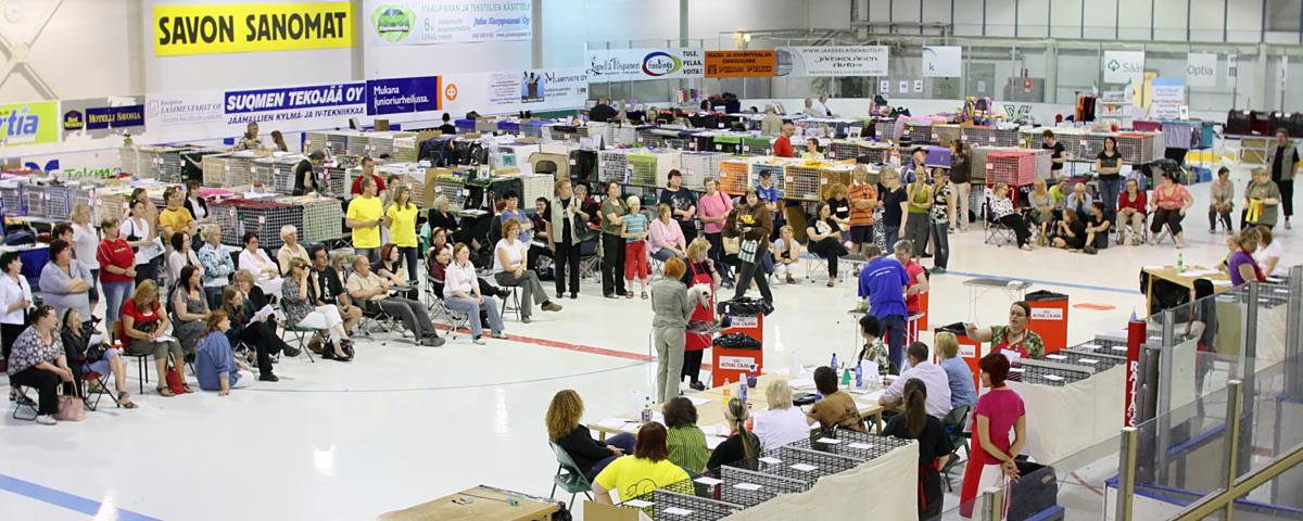 yleiskuvaa näyttelypaikalta, kuva 098345, 28.6.2008