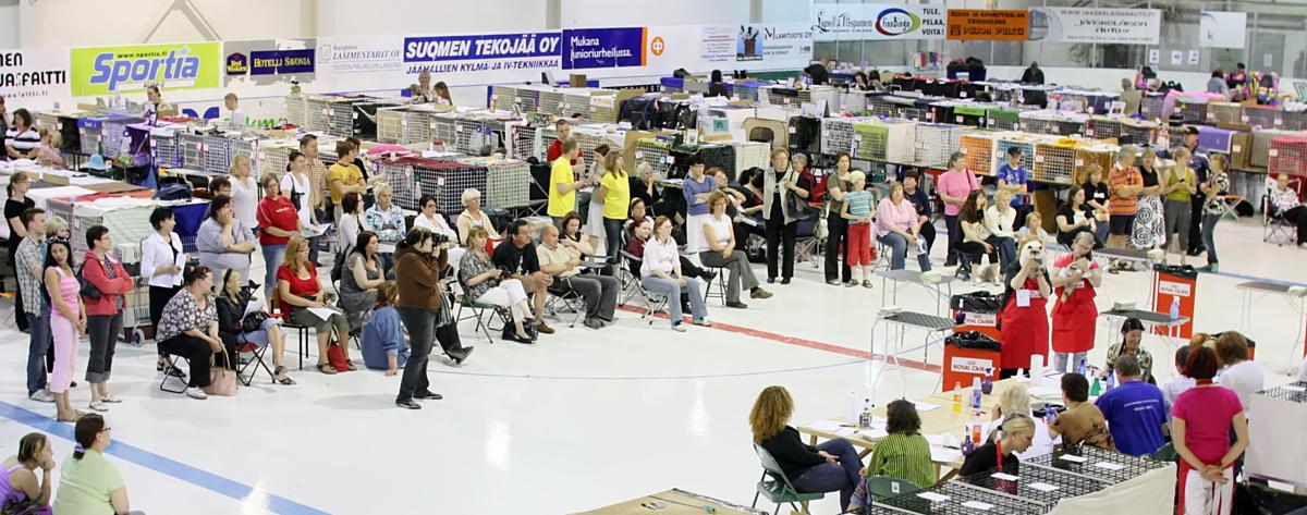 yleiskuvaa näyttelypaikalta, kuva 098346, 28.6.2008
