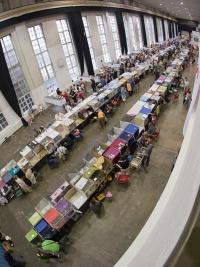 kuva 100148 . yleiskuvaa näyttelypaikalta . 3.8.2008