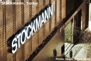 kuva 115241 . bonuskuva Bonuskuva: Stockmann, Turku (näkymä hotellihuoneen ikkunasta) . 23.11.2008