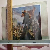 photo 121165 . Lenin panssariauton katolla Suomen asemalla . 2009-03-21