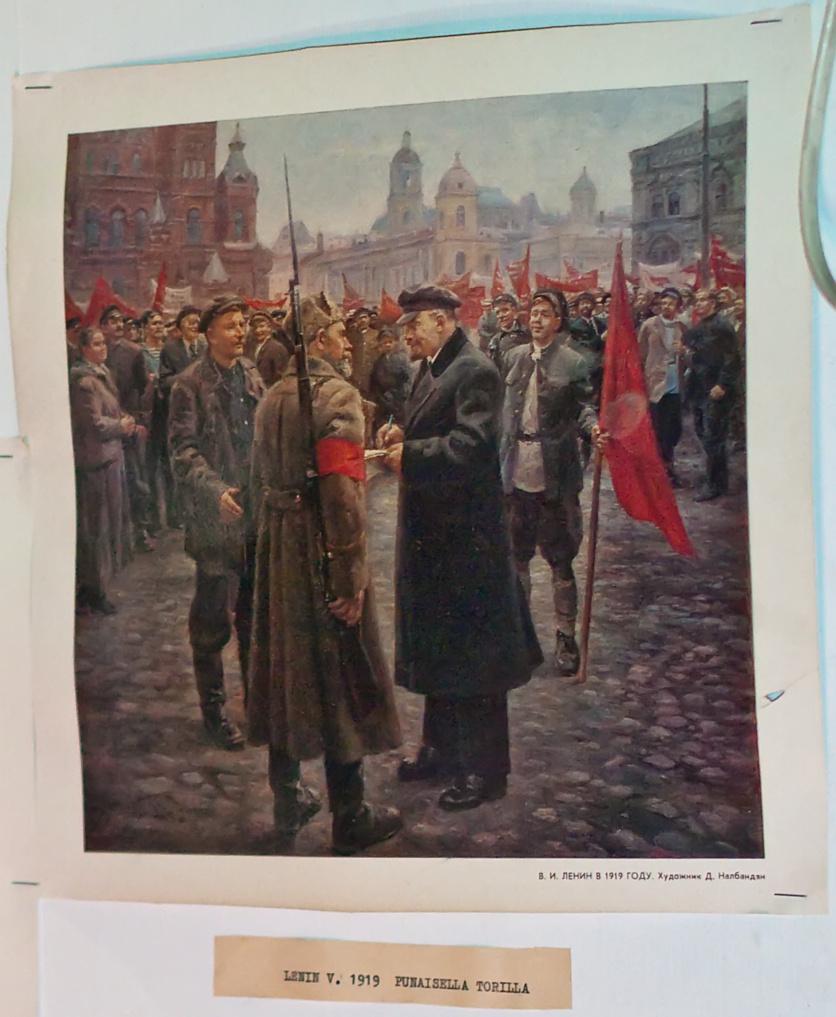 Lenin vuonna 1919 Punaisella torilla, photo 121166, 2009-03-21