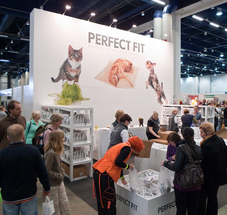 Perfect Fit - the sponsor of the cat show, photo 123181, 2009-04-04