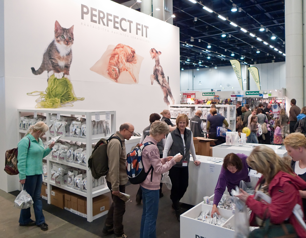 Perfect Fit - the sponsor of the cat show, photo 123182, 2009-04-04