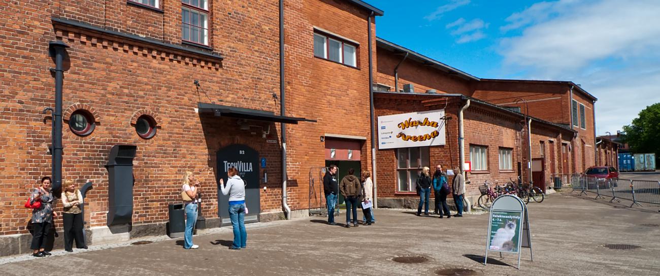 Wanha Villatehdas, Hyvinkää, Finland, photo 127134, 2009-06-06