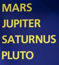 kuva 132002 . Mars, Jupiter, Saturnus, Pluto . 26.9.2009