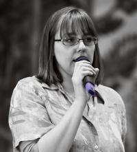 photo 159012 . the presenter . 2010-09-26