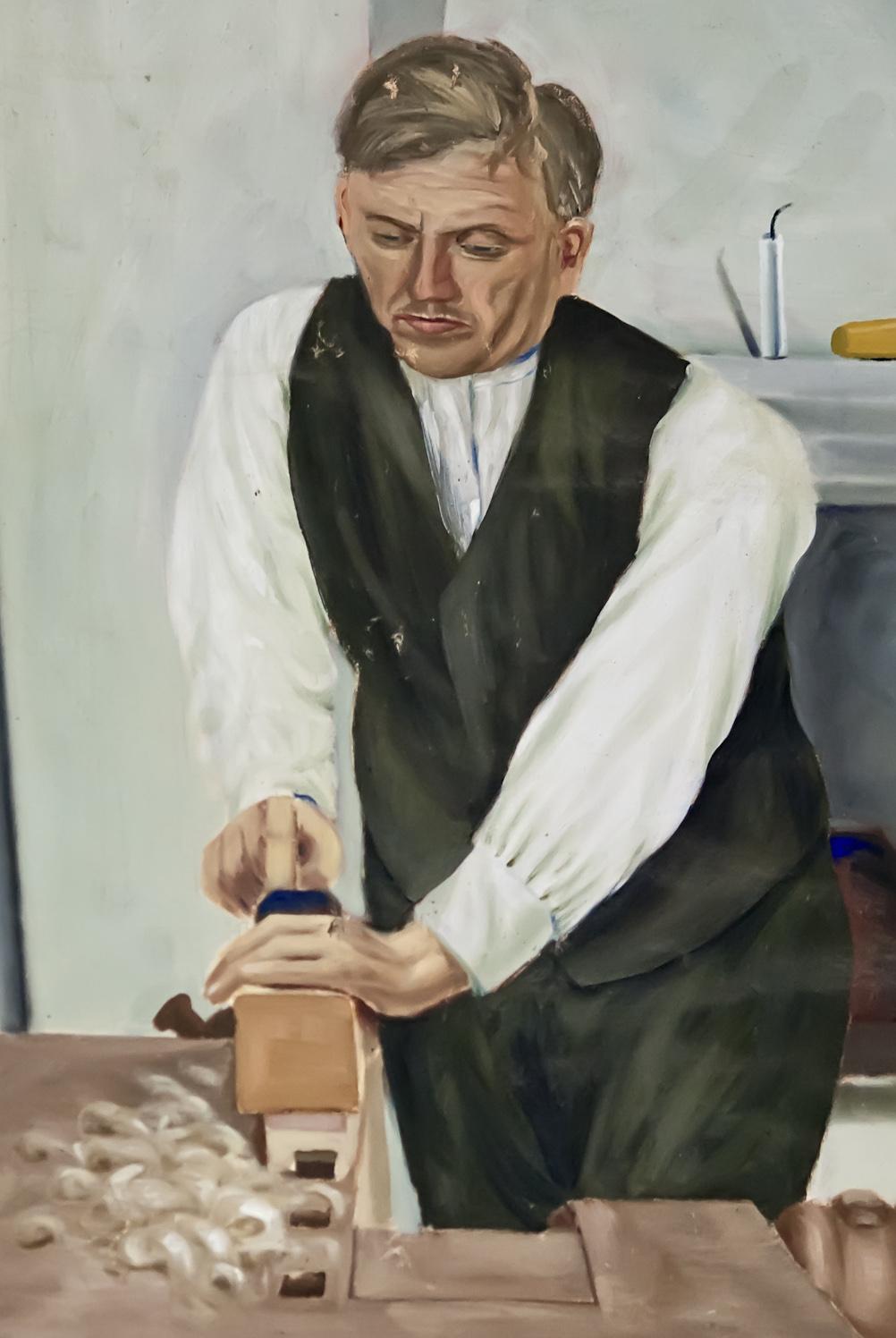 The artwork by Matti Taskinen 1925, photo 183003, 2011-11-12