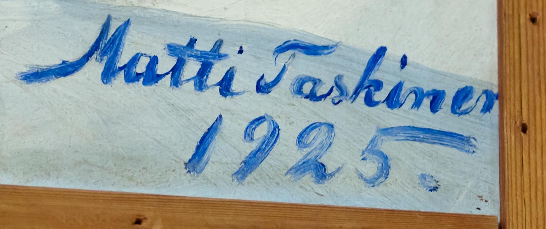 The artwork by Matti Taskinen 1925, photo 183005, 2011-11-12